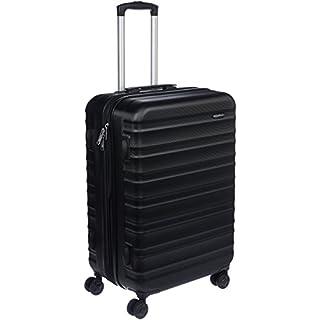 AmazonBasics Valise de voyage à roulettes pivotantes,  Noir, 68 cm