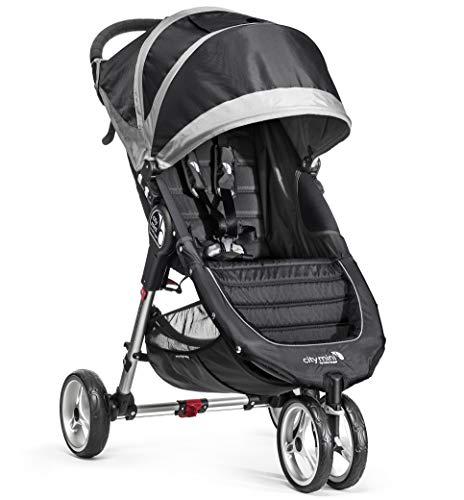 Baby Jogger City Mini Poussette 3Roues, Noir