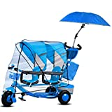 YUMEIGE Tricycles Twin Kids Tricycle Load Weight 100 Kg 1-6 Years Old Birthday Gift...