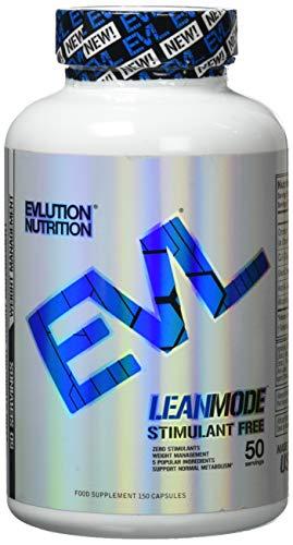 Evlution Nutrition Lean Mode Nahrungsergänzungsmittel für Abnehmen, Fettverbrenner Kapseln mit naturreinen Extrakten (50 Portionen)