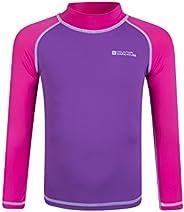 Mountain Warehouse Camiseta térmica para niños - Camiseta térmica con protección UV, Camiseta térmica de Manga