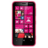 'Nokia Lumia 620 ? Smartphone (3,8 Zoll Display, 5 Megapixel Kamera, 8 GB, Dual-Core 1 GHz, 512 MB RAM, Microsoft Windows Phone 8), Rosa