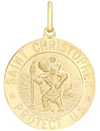Carissima 9 Karat Gelbgold St. Chrisoph Medallion  Anhänger  - 1.61.8169
