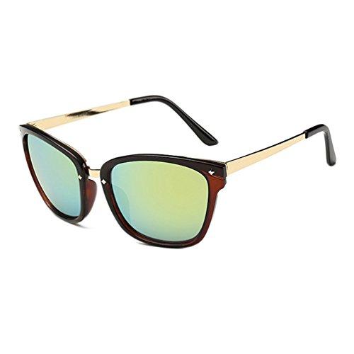 Tansle Damen Sonnenbrille, Grün
