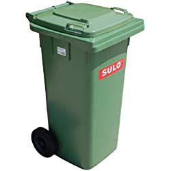 Müllbehaelter 120 Liter grün