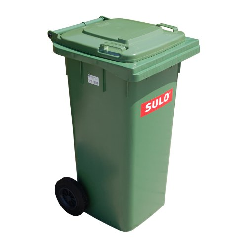 *Müllbehaelter 120 Liter grün*