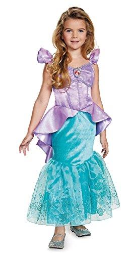 (Disney Ariel kleine Meerjungfrau Mädchen Kinder Fasching Karneval Kostüm Deluxe Costume (98/104))