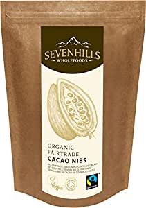 Sevenhills Wholefoods Organic Fairtrade Raw Cacao Nibs 1kg