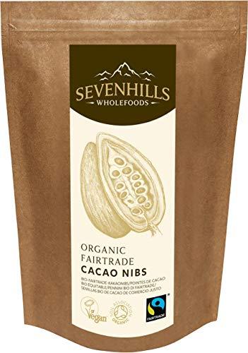 Sevenhills Wholefoods Roh Kakaonibs Bio, Fairtrade 1kg