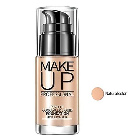 Moresave Frauen Make-up Gesicht BB Cream Concealer Liquid Foundation Whitening Cover