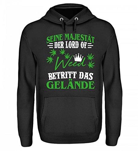 Hochwertiger Unisex Hoodie - Hochwertiger Unisex Hoodie - - Hanf Shirt / Kiffer / Gras / Cannabis / Marihuana / Weed / Pulli / Pullover / Hoody / T-Shirt / Bong / Rauchen