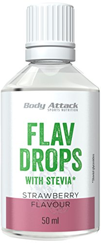 Body Attack Flav Drops Stevia (Strawberry)