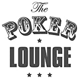 I-love-Wandtattoo Sticker Mural 11268 Sticker Mural Inscription The Poker Lounge Salon Stickers Muraux Sticker Mural, Violett, 110 x 110 cm