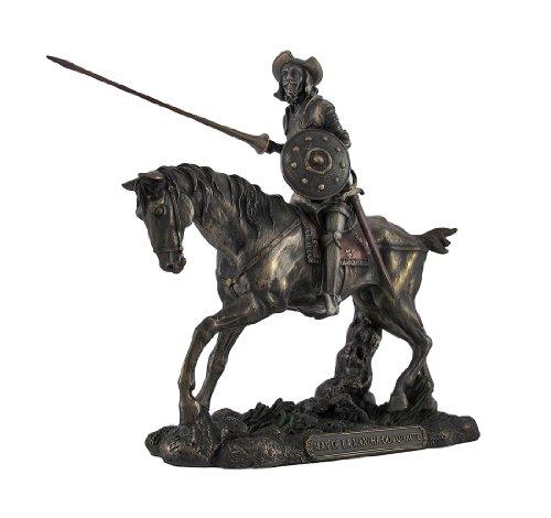 Don Quijote Caballo Steed con lanza figura