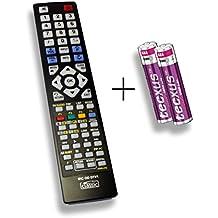 Ersatzfernbedienung speziell für TECHNISAT DIGIT ISIO C DLZE®-Edition inkl. Batterien
