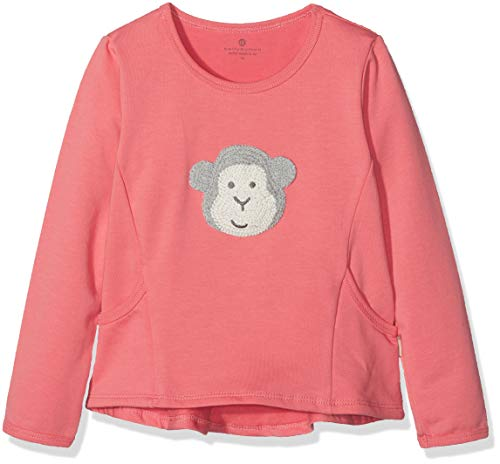 Bellybutton mother nature & me Baby-Mädchen Sweatshirt 1/1 Arm, Rosa of Sharon|Rose 2970, 92