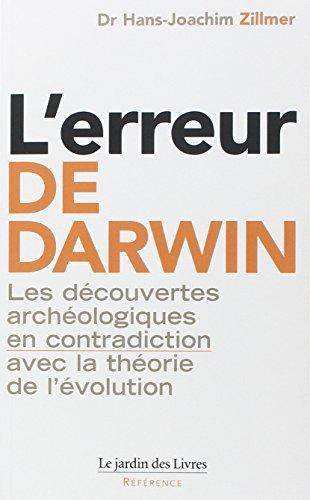 L'Erreur de Darwin par Hans-Joachim Zilmmer