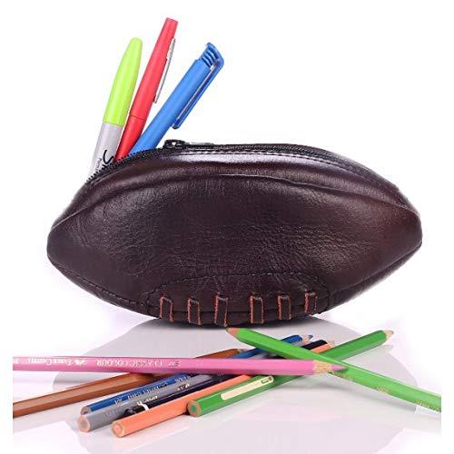 Estuche de Lona de balón de Rugby de Piel Vintage
