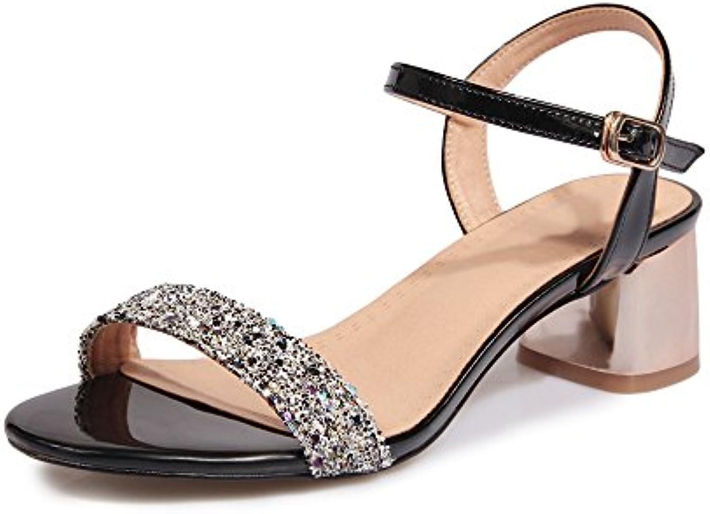 QIN&X Le Donne del Blocco di Talloni Peep Toe Cinturino Alla Caviglia Sandali | La qualità prima  | Uomini/Donne Scarpa