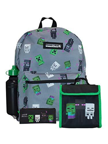 Minecraft Kinder Rucksack 4-teiliger
