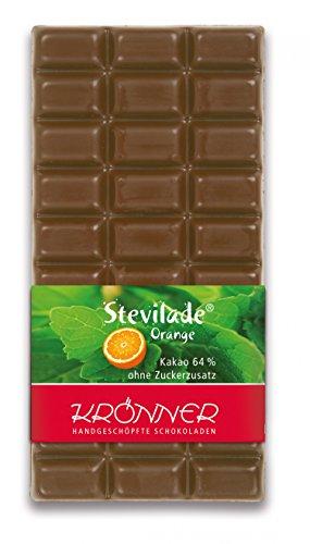 Krönner Stevilade Orange 64% / 100g Tafelschokolade (Dunkle Schokolade Mit Orange)