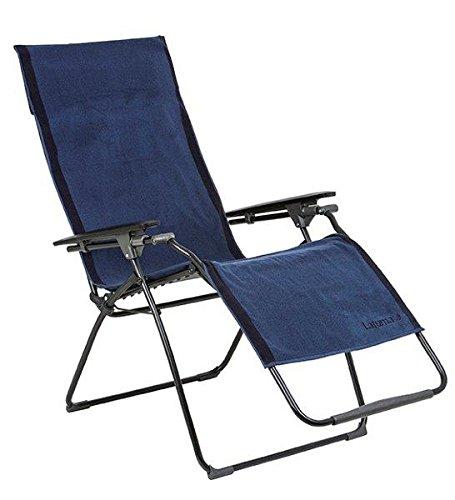 Lafuma Frotteeauflage für alle Relax-Liegestühle, 100% Baumwolle, ocean (blau), 60 x 180 cm