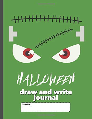 rite Journal: Writing Notebook for Kids with large space for drawing pictures and wide lines to encourage creative writers (Frankenstein Monster) ()
