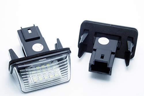 ledpremium 2x Luci di Portatarga plafones LED per auto Peugeot 206Canbus