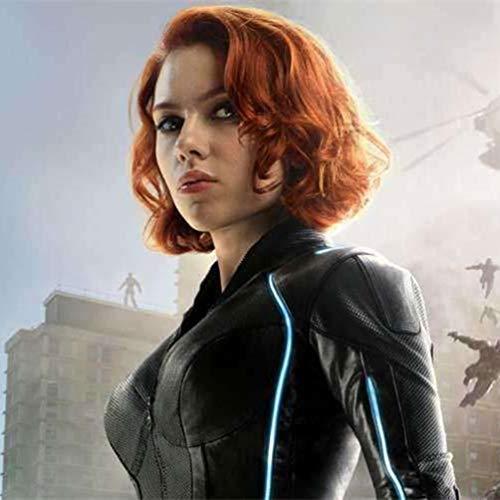 Cosplay peluca película The Avengers Natasha Romanoff