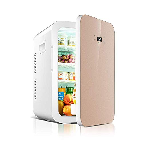 WMG& Mini Kühlschrank Kühler und wärmer 22L Kapazität | kompakt, tragbar und leise | Kompatibilität mit Wechselstrom und Gleichstrom,Flesh - Mini-kühlschrank-schlüssel