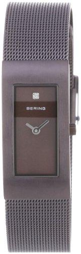 BERING Damen-Armbanduhr Analog Quarz Edelstahl 10817-393