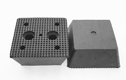 Preisvergleich Produktbild 150x150x70mm Gummiauflage (Pyramide) für Wagenheber und Hebebühnen