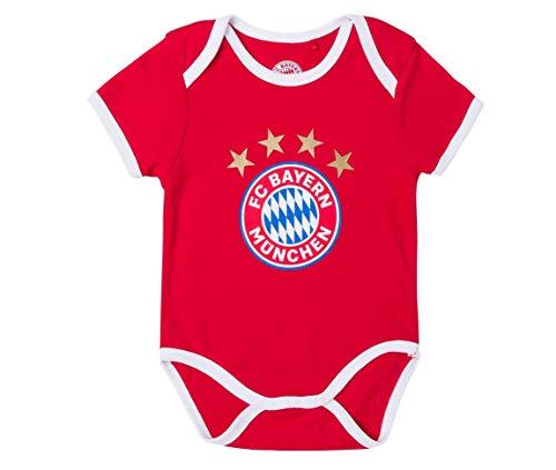 FC Bayern München Baby Body (62/68, Logo)