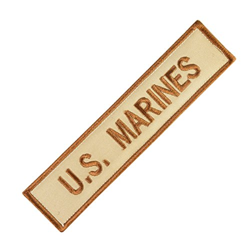 US Marines USMC Name Tape Desert AOR1 DCU Stickerei Combat Fastener Aufnäher Patch