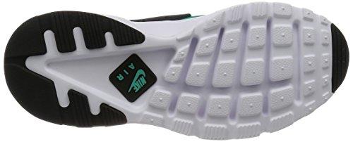 Nike Air Huarache Run Ultra, Chaussures de Running Entrainement Homme Gris (gris foncé / menthe - noir - blanc)