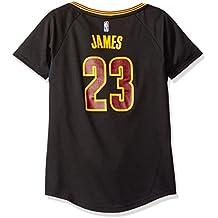 best cheap 1d57b da2de adidas NBA Cleveland Cavaliers Lebron James   23 Réplique Maillot ...