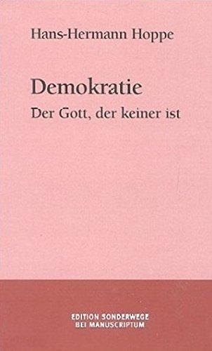 Kunst Von Gott (Demokratie. Der Gott, der keiner ist)