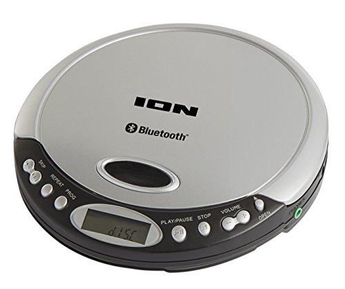 Ion Air CD Schmaler, Tragbarer CD-Player mit Bluetooth-Streaming, Kopfhörerausgang und optionalem Batteriebetrieb