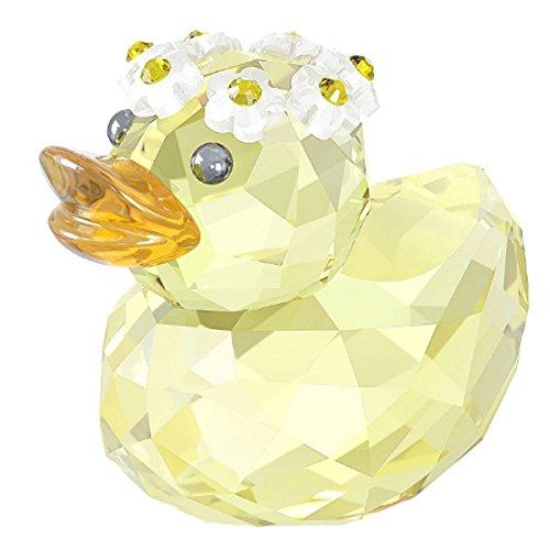 Swarovski 5136373 Glückliche Ente - Charming Daisy, 5,2 x 5,6 x 3,8 cm