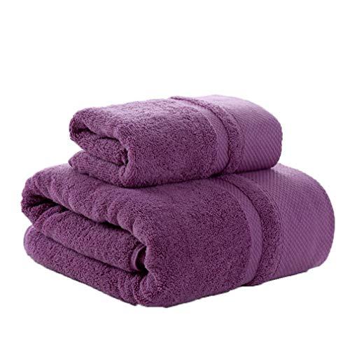 2 piezas Juego toallas baño gruesas Secado rápido