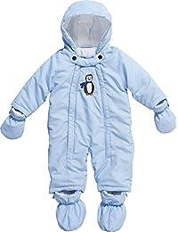 Playshoes Unisex-Baby Schneeanzug Schnee-Overall Pinguin