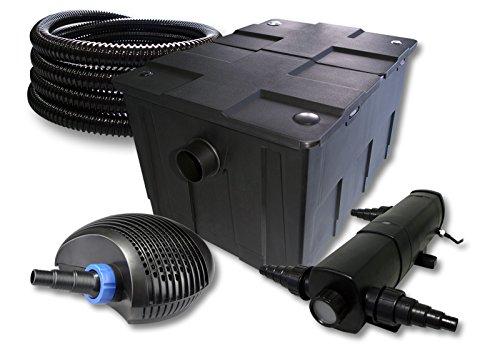 sunsun filtro set per 60000l stagno con 36 w laghetti e 40