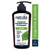 NATRALIA Eczema & Psoriasis - Champú sin jabón para el cuerpo, 19 ml