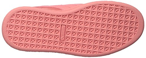 PUMA Unisex-Kids Suede Maze Pull on Sneaker  Shell Pink-Shell Pink  1 5 M US Little Kid