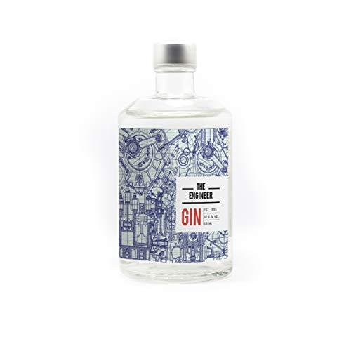 Dry Gin 42% I The Engineer I Der Gin für Entdecker, Ingenieure & Erfinder I Harmonischer Gin mit handverlesenen Botanicals I Premium Distilled 50cl