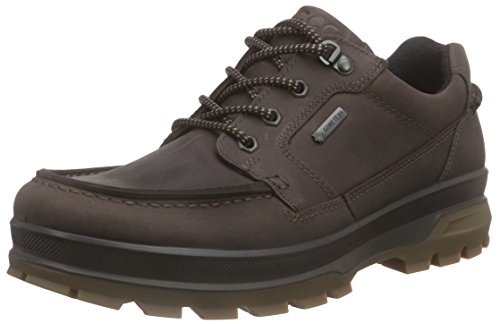Herren Brown Ecco Schuhe (Ecco Herren Rugged Track Outdoor Fitnessschuhe, Braun (Mocha 2178), 42 EU)