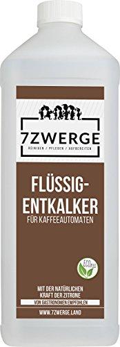 7Zwerge I 1 x 1000 ml Flüssig Entkalker für Kaffeevollautomaten I Kaffee-Maschine I...