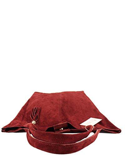 histoireDaccessoires - Borsa Pelle Donna Portata sulla Spalla - SA136623GV-Miss BordeauxBordeaux