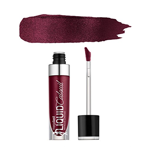 (6 Pack) WET N WILD Megalast Liquid Catsuit Metallic Lipstick - I Don't Dessert You - Lippenstift N Java Wild Wet