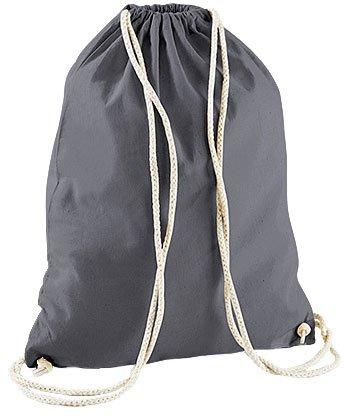Mein Zwergenland Jutebeutel Pocket-Einhorn, 12L, Schwarz Weiß